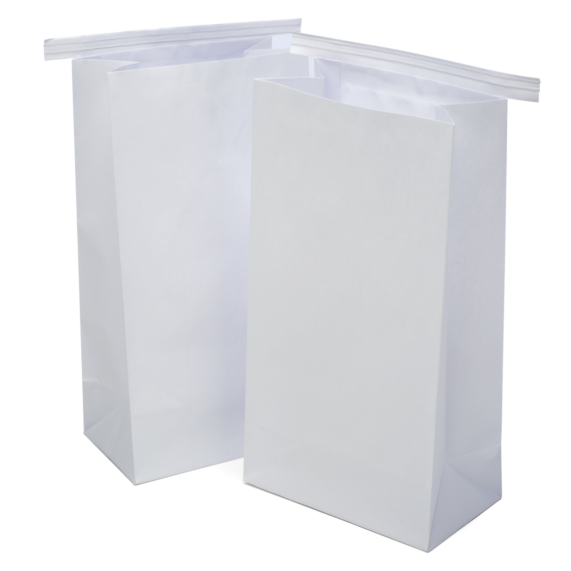 Classic White Vomit/Barf Bags - Travel Motion & Morning Sickness Bags (25/Pk)