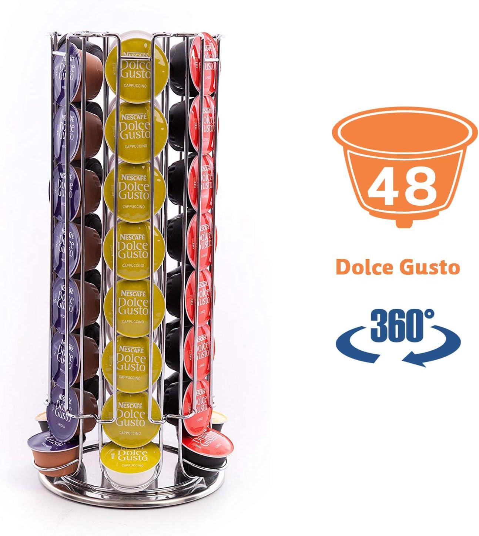 Peak Coffee Dolce Gusto D48 - Soportes para 48 cápsulas de café ...