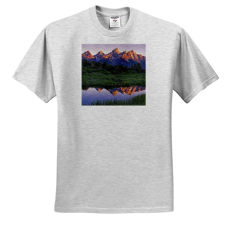 Grand Teton - Adult T-Shirt XL ts/_315219 Wyoming Grand Teton National Park USA 3dRose Danita Delimont
