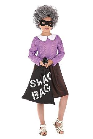 Bristol Novelty - Disfraz de abuela de ladrón: Amazon.es: Juguetes ...