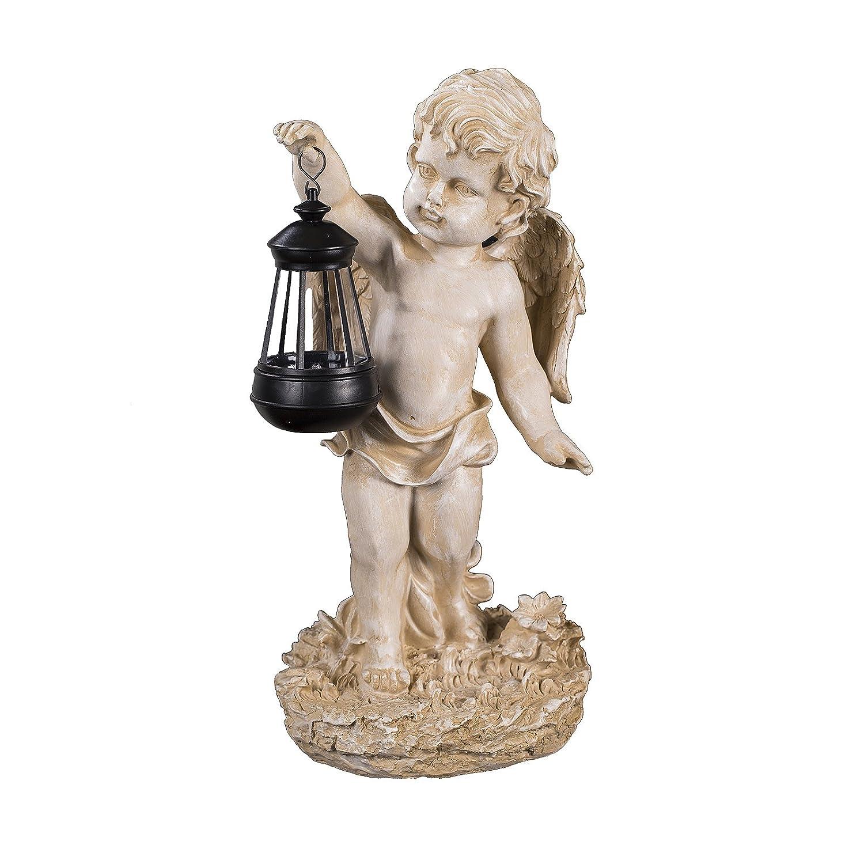 LED Solar Figur Leuchte Lampe Engel Angel Grabdeko Gartendeko Akku Schutzengel
