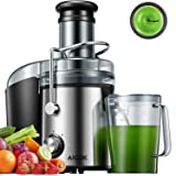 AICOK Juicer Extractor 1000W Centrifugal Juicer Machines Ultra Fast Extract Various Fruit and Vegetable Juice, 75MM Large Fee