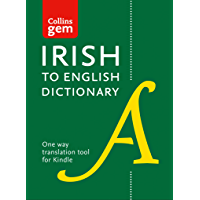 Collins Irish to English (One Way) Gem Dictionary: Trusted support for learning (Collins Gem) (English Edition)