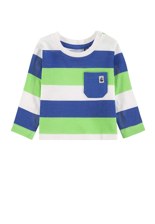 TOM TAILOR Baby-Jungen T-Shirt Striped Langarmshirt