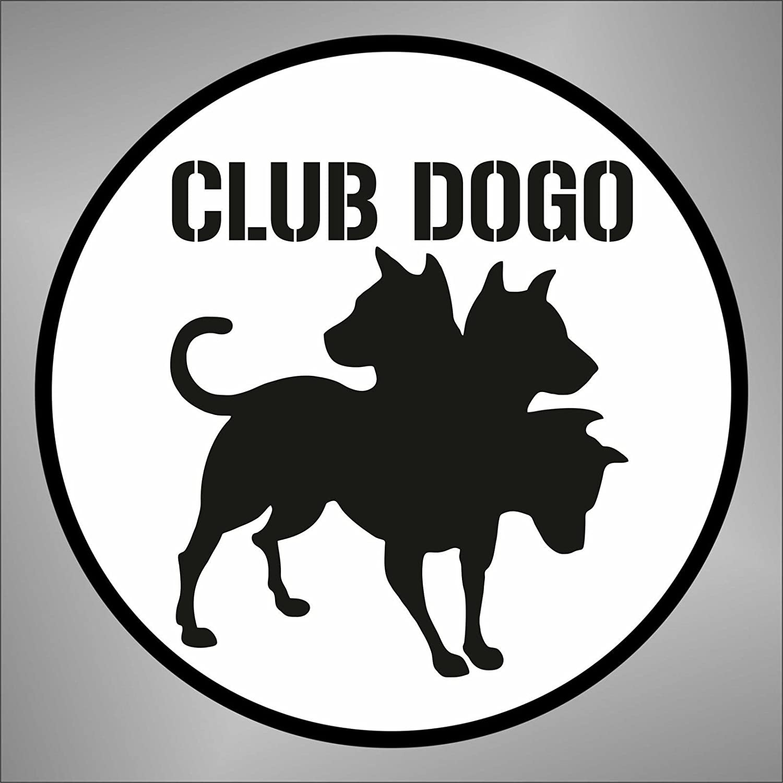 Adesivo Club Dogo hip hop rap jazz hard rock metal pop funk sticker