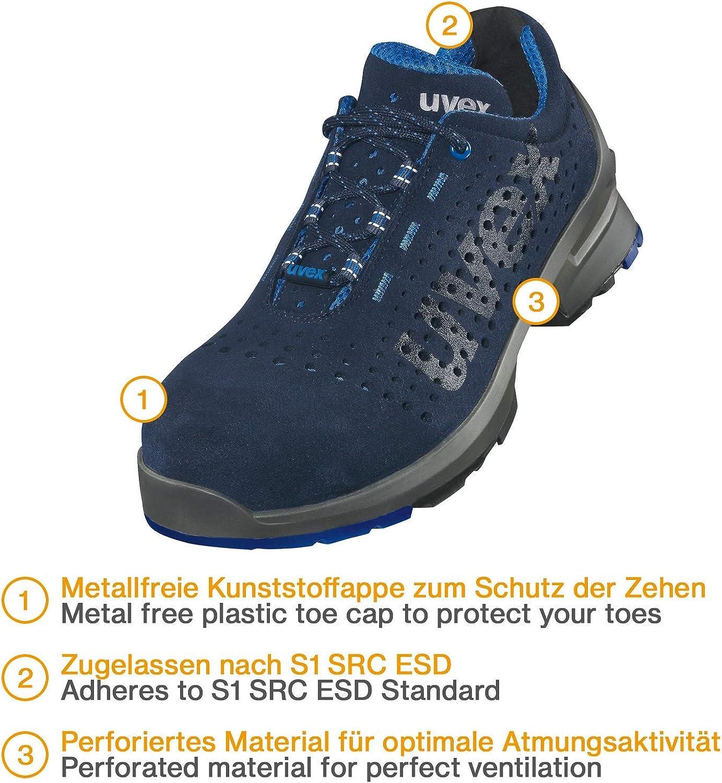 LARNMERN Chaussure de Securit/é Unisexes SRC Antid/érapantes Basket Securit/é Chaussures de Travail Chaussures de Protection Embout en Acier