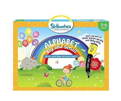 Skillmatics Educational Game: Alphabet Big and Small, 3-6 Years