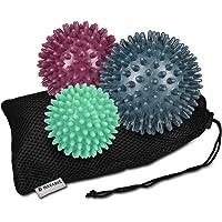 Navaris set de 3 bolas con diseño erizo