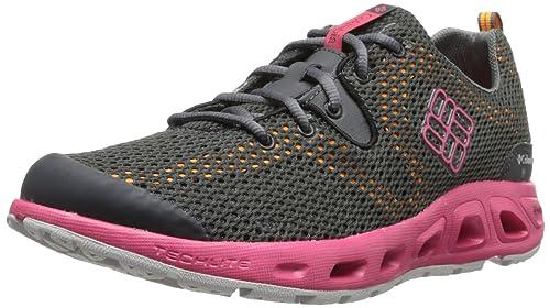 Zapatillas acuáticas Columbia Drainmaker II rosa/negro para mujer (Tamaño: 38)