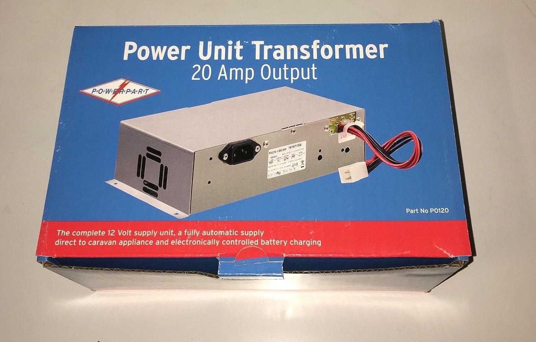 CARAVAN /MOTORHOME TRANSFORMER / BATTERY CHARGER 20 AMP: Amazon.co ...