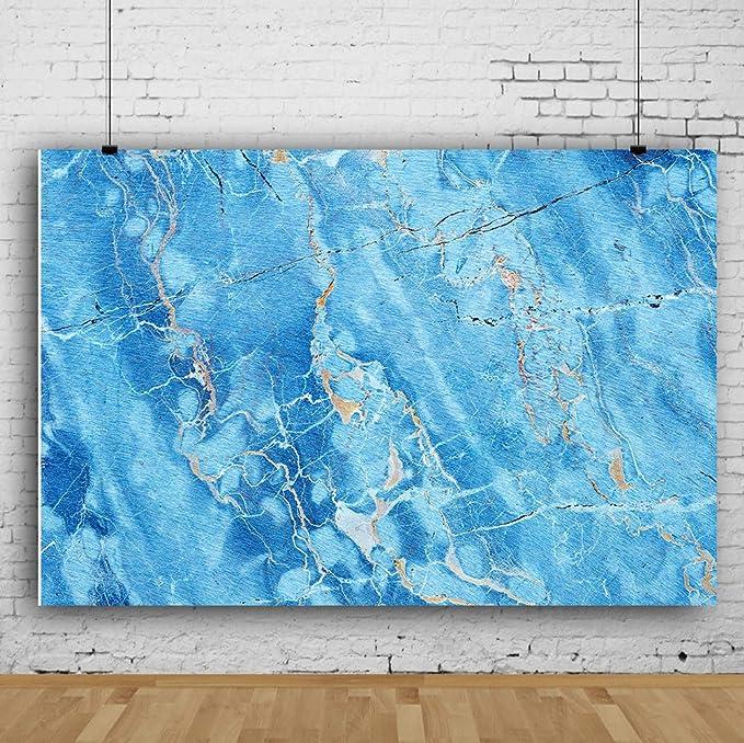 7x7FT Vinyl Photo Backdrops,Marble,Natural Minerals Arrangement Photoshoot Props Photo Background Studio Prop