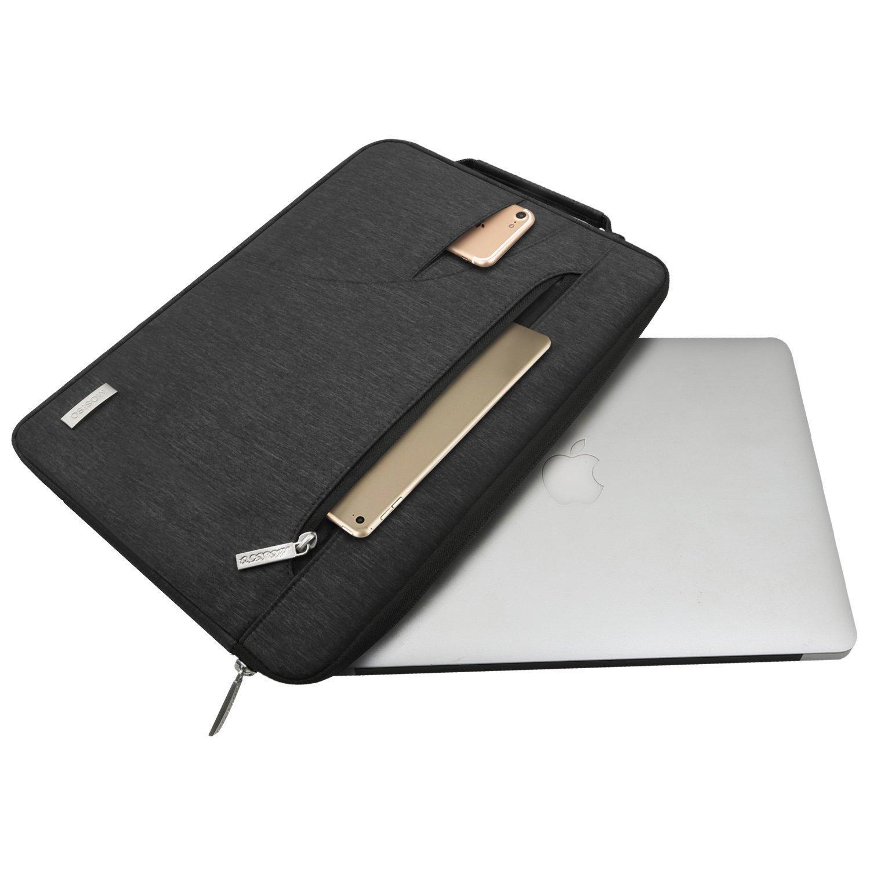 MOSISO Housse Compatible 13-13,3 Pouces MacBook Air 13//MacBook Pro Retina 13//MacBook Pro 13 avec CD-Rom,Polyester Hydrofuge Serviette Ultraportable Sac Bandouli/ère Rose
