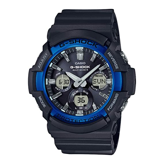 Casio Reloj Analogico-Digital para Hombre de Cuarzo con Correa en Resina GAW-100B-1A2ER: Amazon.es: Relojes