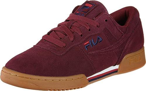 Zapatillas FILA Original Fitness S Burgundy: Amazon.es: Zapatos y complementos