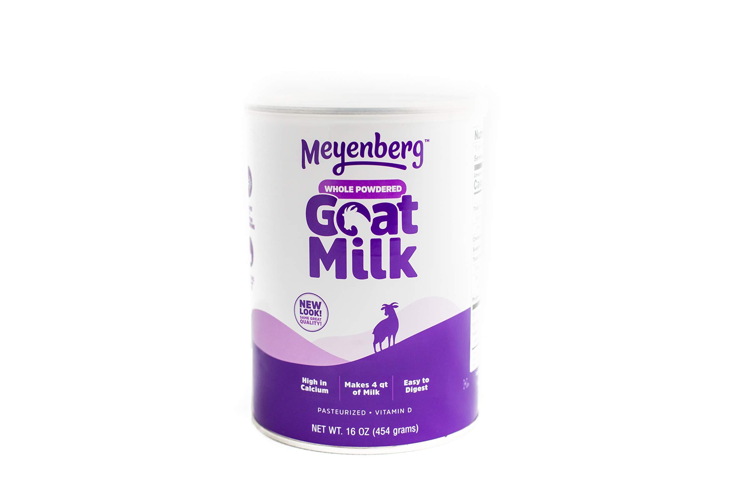 Meyenberg Canned Powdered Whole Goat Milk, Gluten Free, Soy Free, 16 oz