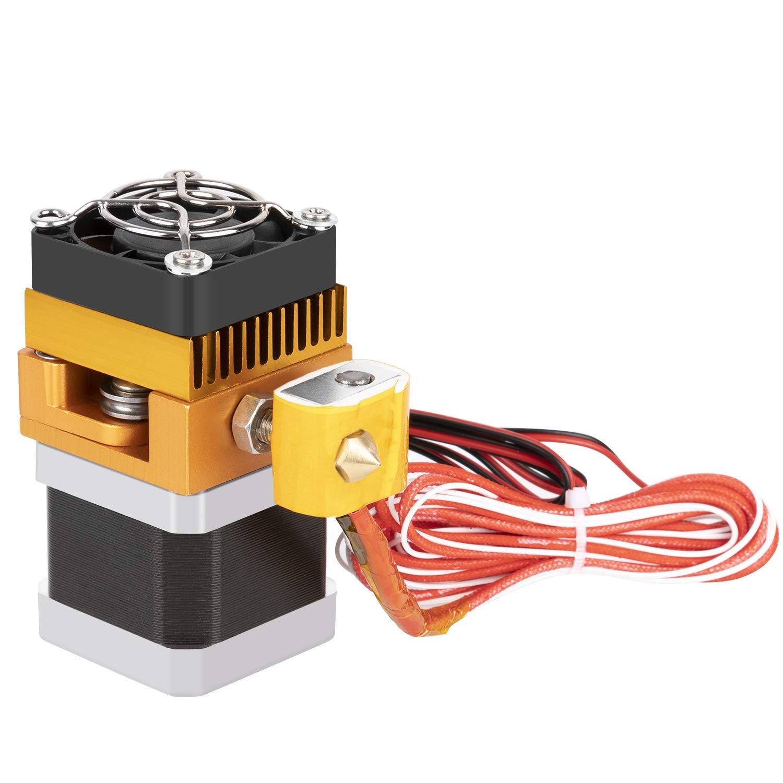 mcdectech-metal MK8 Extrusora de 1,75 mm 0,4 mm para Impresora 3d ...