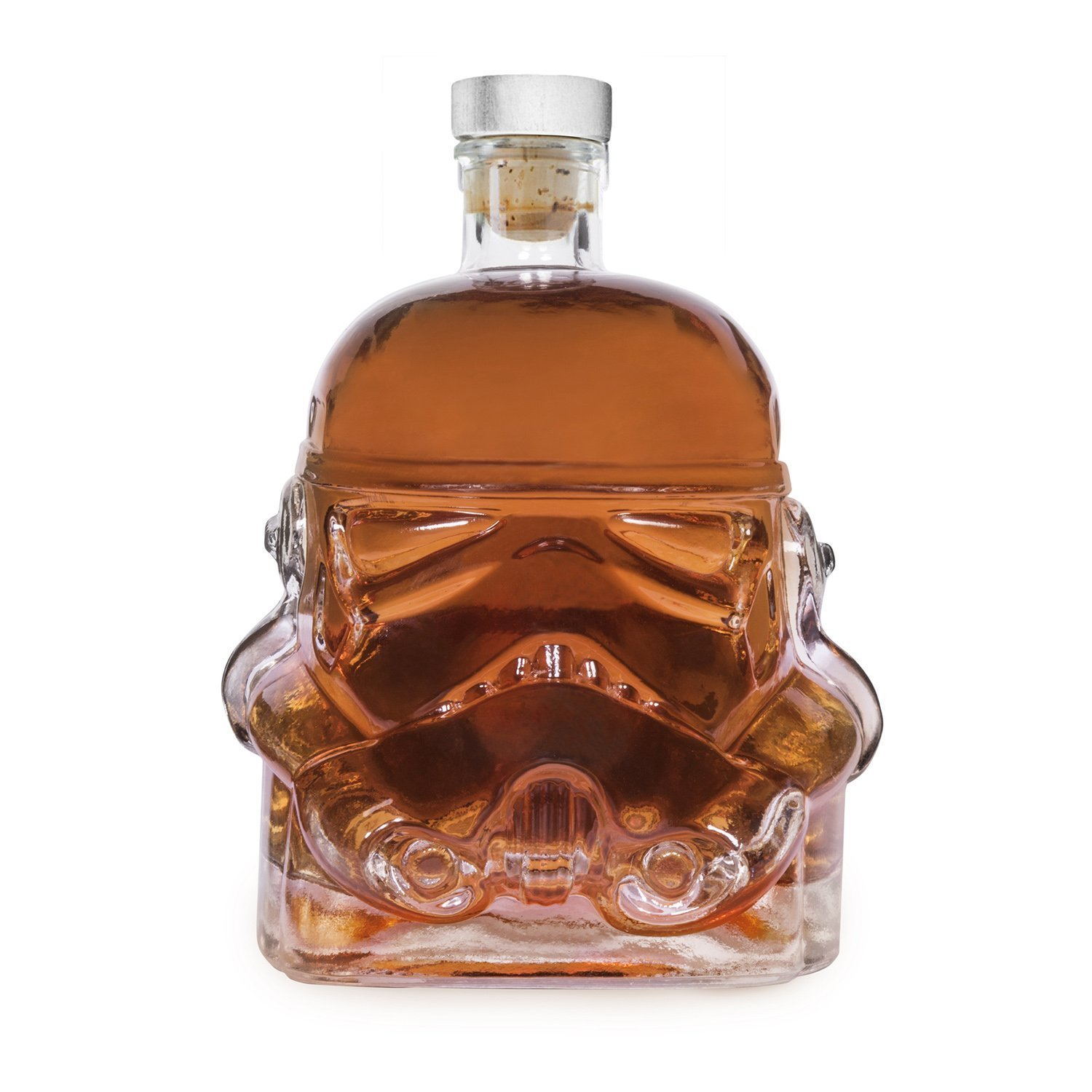 AUTHOME Transparent Creative 700ml Whiskey Flask Carafe Decanter,Stormtrooper Bottle ,Whiskey Carafe,Helmet Glass Cup Heat-Resistance CupSuitable for Whiskey, Vodka and Wine decanter by AUTHOME