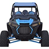 2019 and newer Polaris RZR XP / XP4 1000 / Turbo Full Folding Windshield - SCRATCH RESISTANT - True Full to Half…