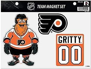 Rico Industries, Inc. Philadelphia Flyers Gritty Mascot Multi Die Cut Magnet Sheet Heavy Duty Auto Home Hockey