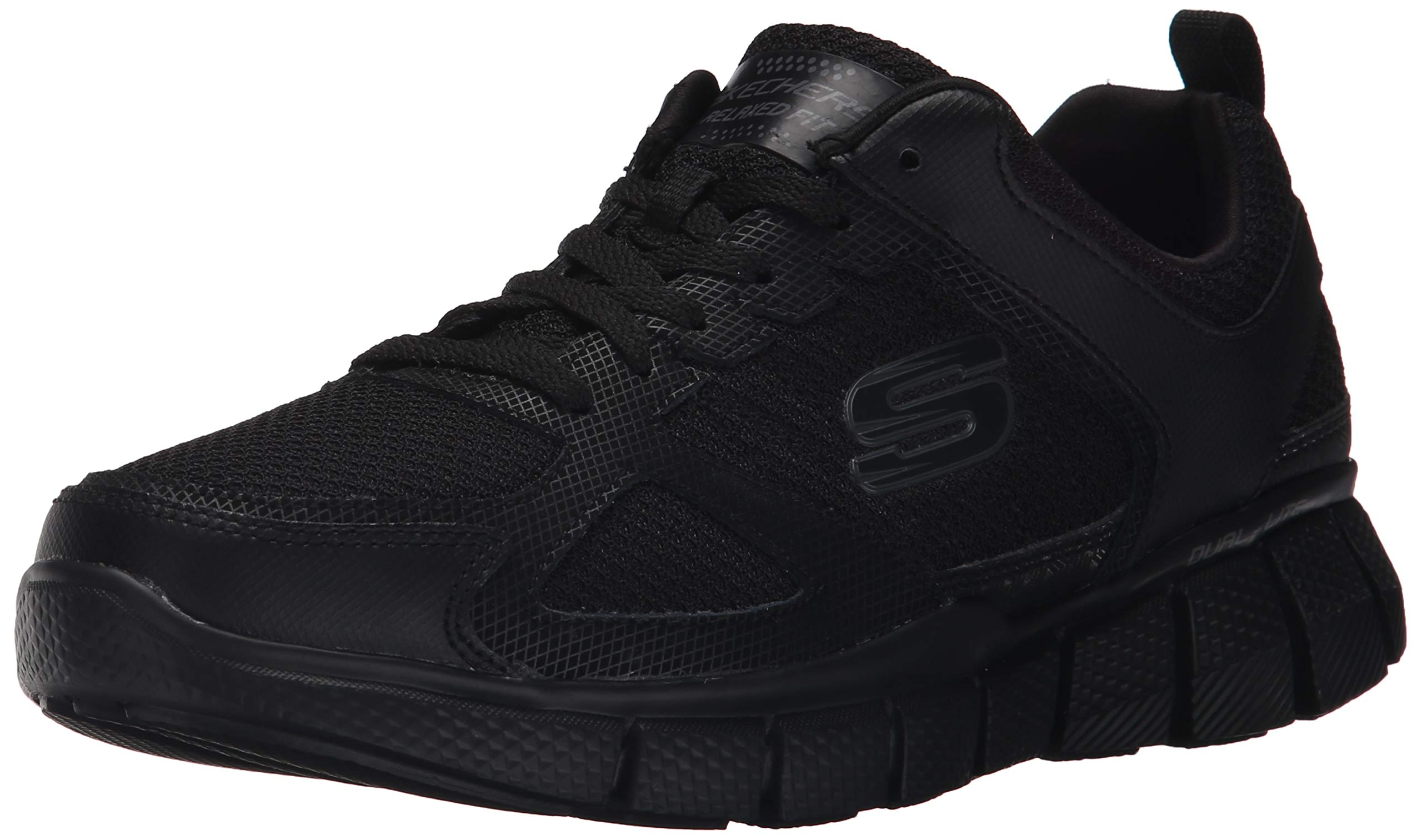 Skechers Sport Men's Equalizer 2.0 True Balance Sneaker,All Black,10.5 M US by Skechers