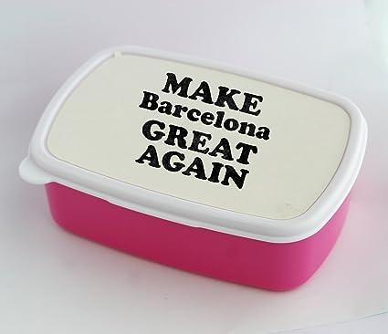Caja de almuerzo con hacer Barcelona gran nuevo