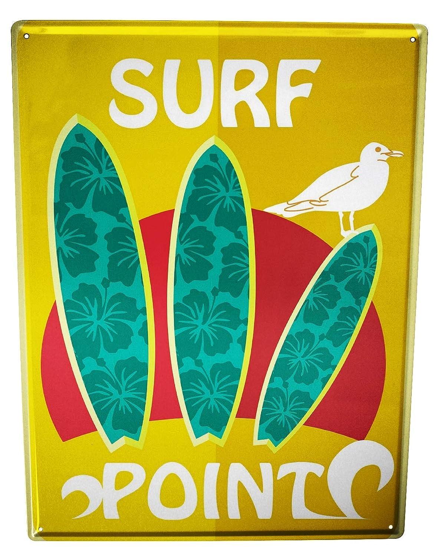 Cartel Letrero de Chapa Diversión Punto surf: Amazon.es: Hogar