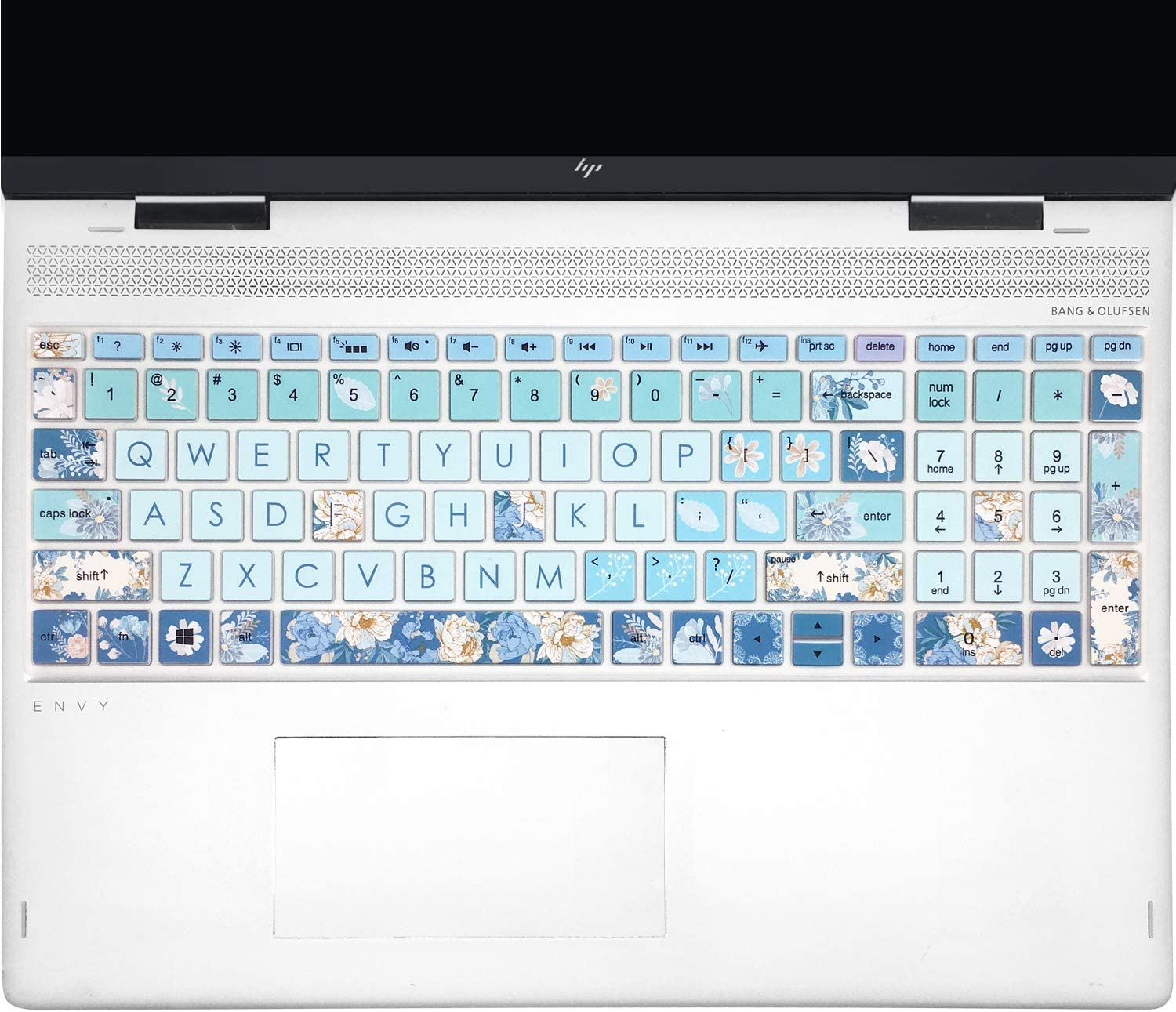 """Keyboard Cover for HP Envy x360 15.6''Series /2020 2019 HP Pavilion 15/ HP Pavilion x360 15.6"""" Series/HP Envy 17 17.3"""