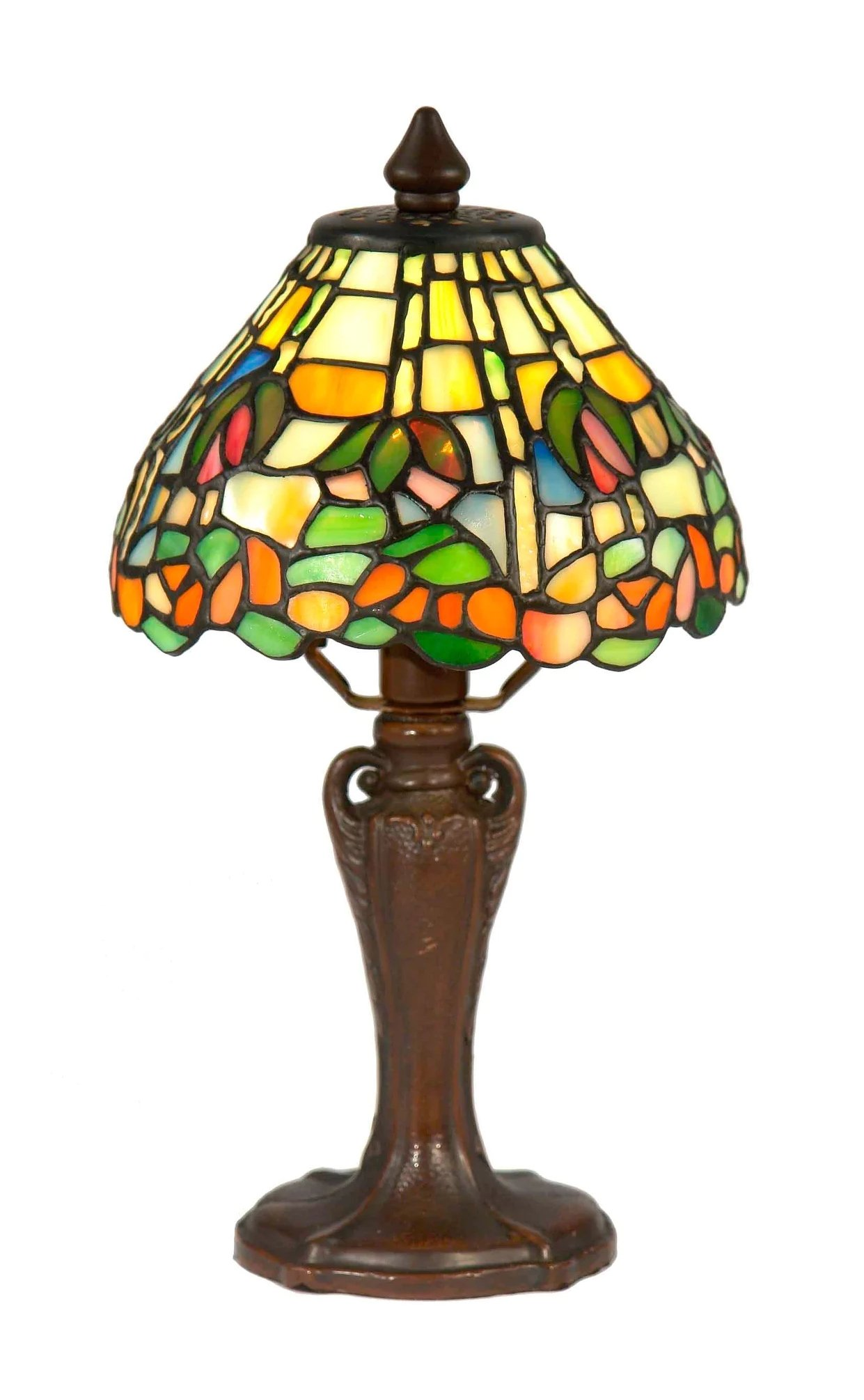 Dale Tiffany Lamps STA17104 Benoit Tiffany Accent Lamp