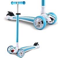 Deals on Hikole 3 Wheel Mini Adjustable Kick Scooter
