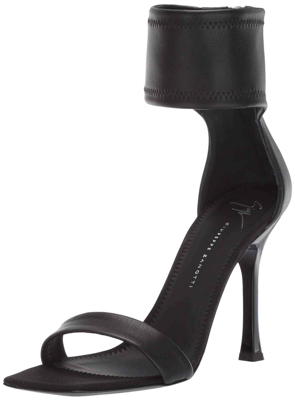 black Giuseppe Zanotti Womens E900082 Heeled Sandal