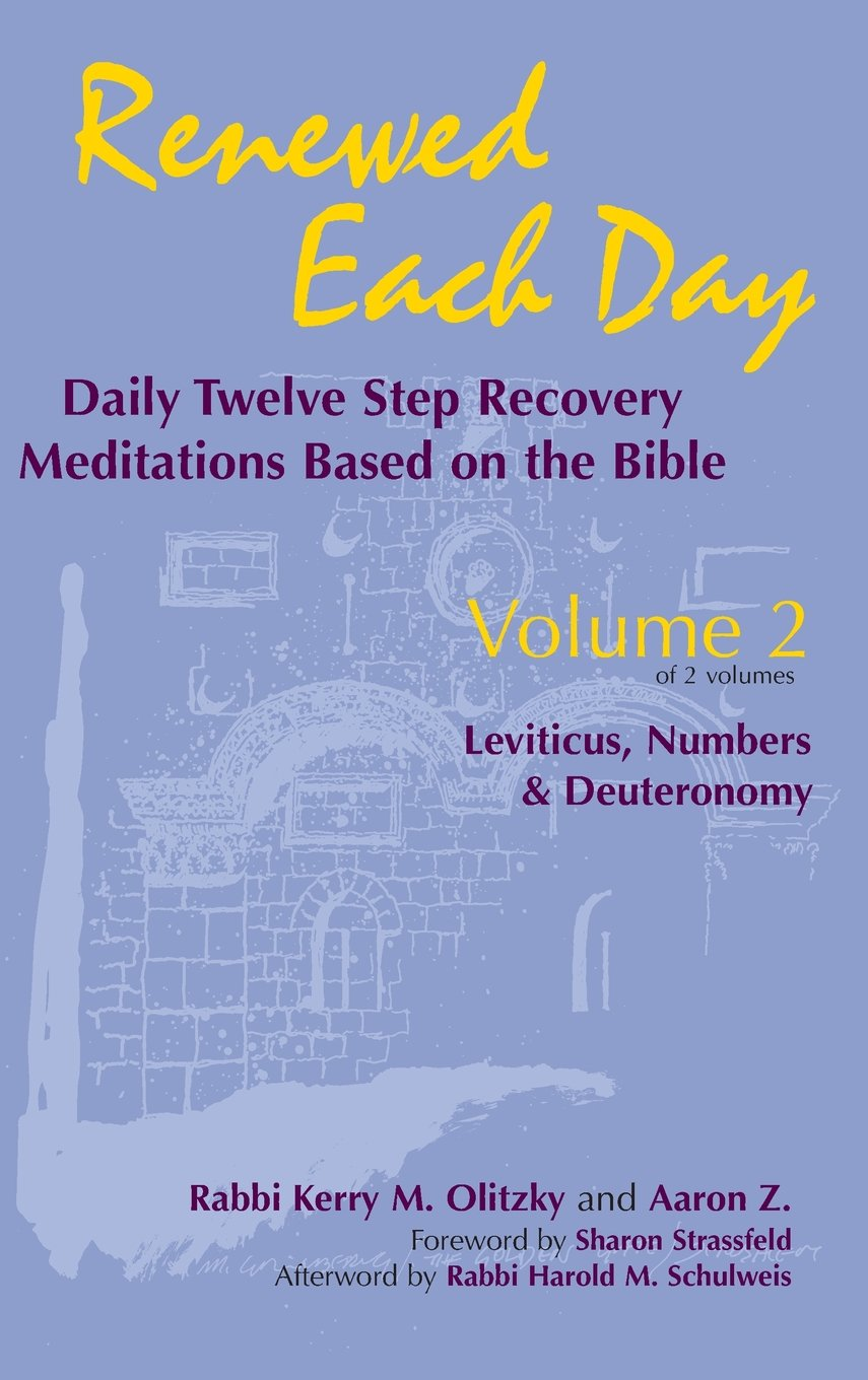 Renewed Each Day―Leviticus, Numbers & Deuteronomy: Daily Twelve Step Recovery Meditations Based on the Bible