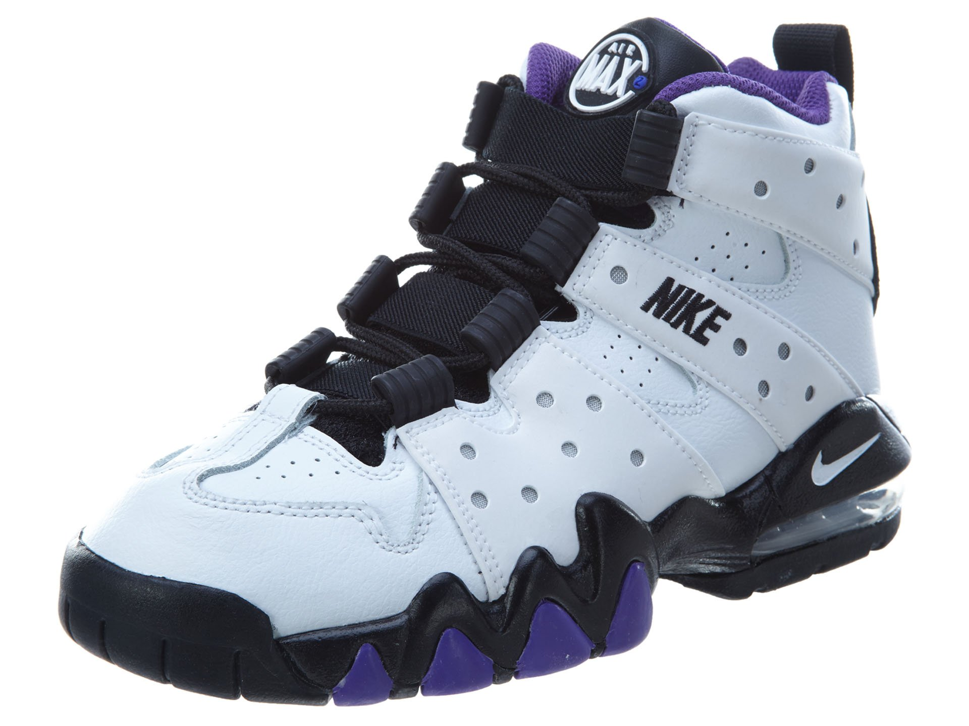 Nike CB 94 Youth US 4.5 White Sneakers by NIKE