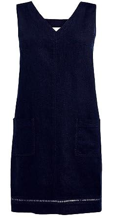 530270892c9 Next Debranded Linen Mix Dark Blue Summer Shift Dress (20)  Amazon.co.uk   Clothing