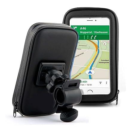 BerryKing Wheel Adventurebag Soporte bicicleta y motocicleta con bolsa de protección para Smartphone Teléfono móvil Dispositivo