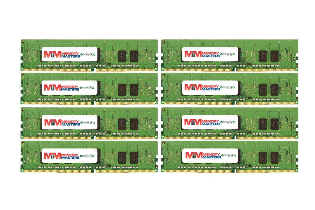 MemoryMasters 64GB (8x8GB) DDR4-2133MHz PC4-17000 ECC RDIMM 2Rx8 1.2V 登録メモリ サーバー/ワークステーション用 B07PGKYWZ6