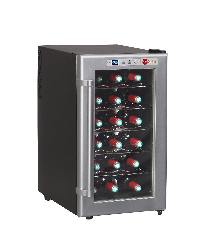 Vinosphère Cave de service VN18C — Pour conserver vos boissons à une température constante et les stocker dans les conditions optimales pour préserver leur qualité [Classe énergétique B]
