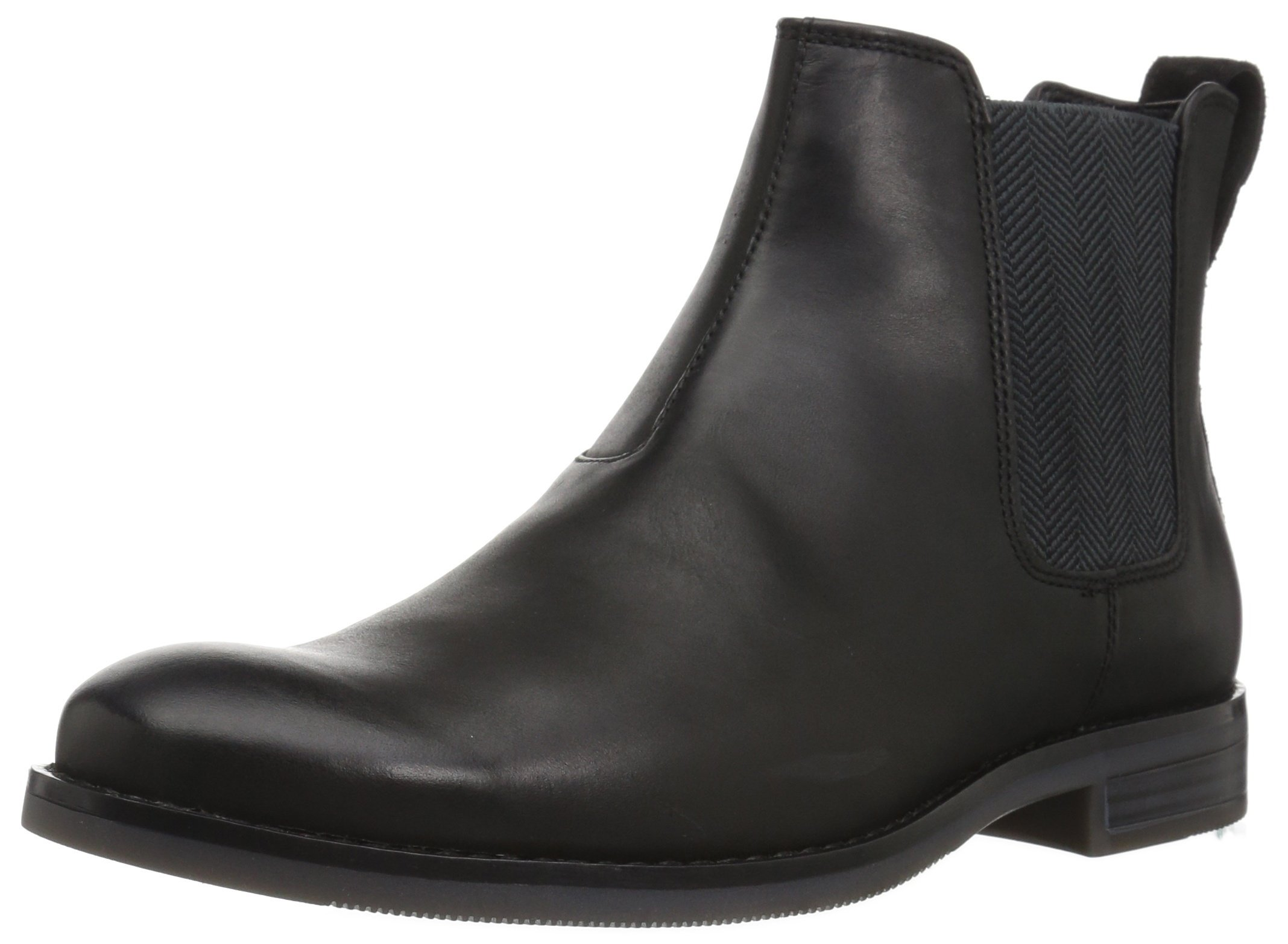 Rockport Men's Wynstin Chelsea Chelsea Boot, Black, 9.5 M US