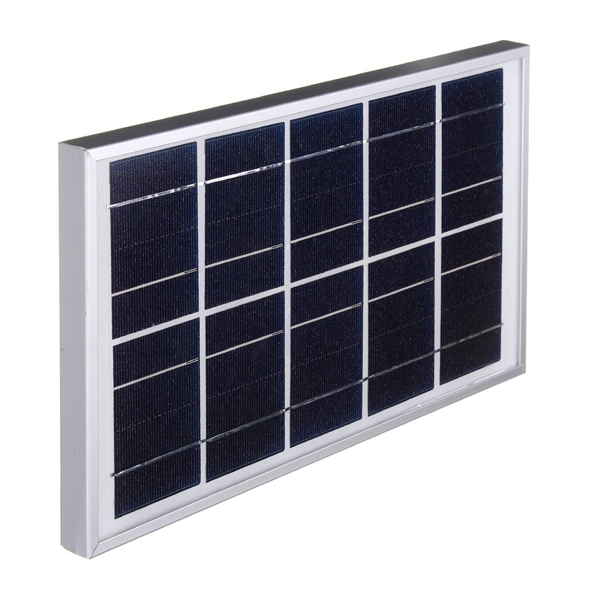 LaDicha 5V 7W Durdable Impermeable Policristalino Solar Panel ...