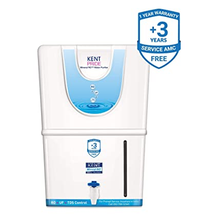 b3bd935a82 KENT Pride 8-Litres Mineral RO Water Purifier,White: Amazon.in: Home &  Kitchen