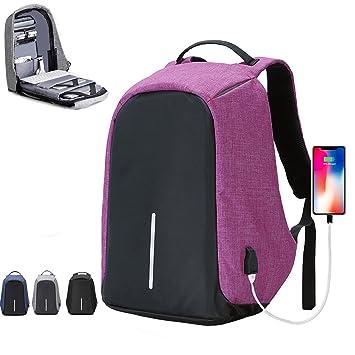 halova mochila de viaje, antirrobo mochila para portátil con USB puerto de carga, gran