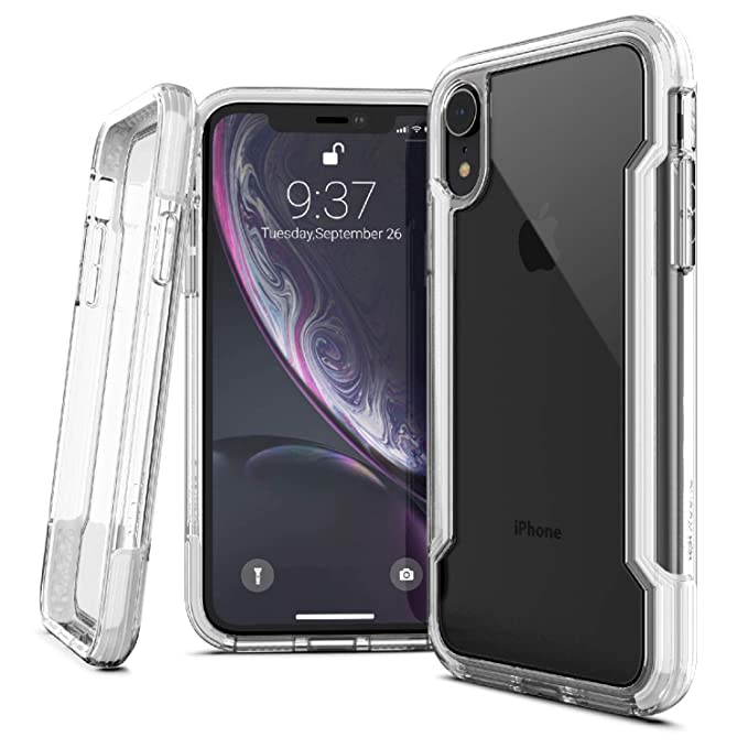 separation shoes c3690 c6964 iPhone XR Case, X-Doria Defense Clear Series - Military Grade Drop  Protection, Shock Protection, Clear Protective Case for iPhone XR, 6.1 Inch  LCD ...