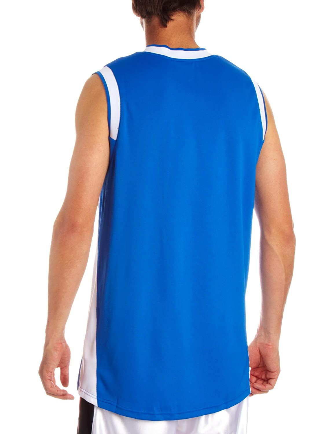 Nike Mens Dri Fit SLAM II TANK Sleeveless BSKTBLL Vest Top Jersey Royal Blue