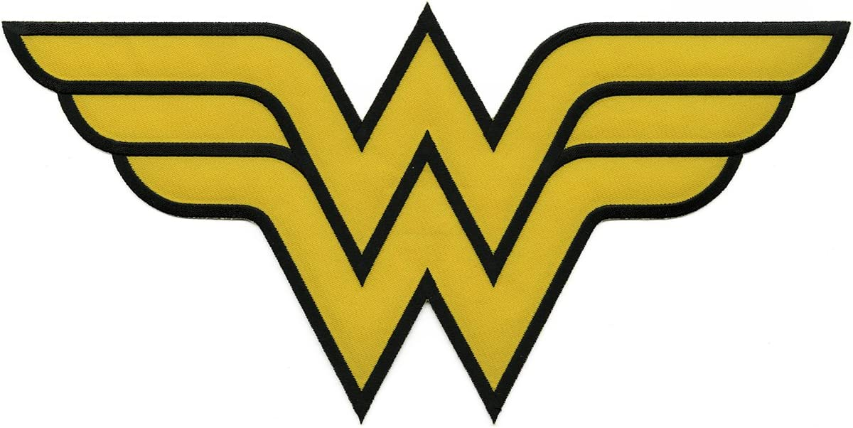 Amazon Com Application Dc Comics Originals Wonder Woman Logo Back Patch Toys Games