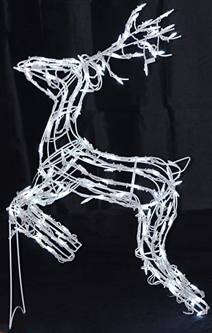 Amazon 40 reindeer led deer lighted christmas decoration 40quot reindeer led deer lighted christmas decoration aloadofball Image collections