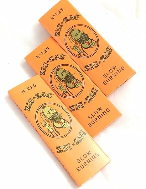 Zig Zag Orange Rolling Papers 1 1/4-3 Pack