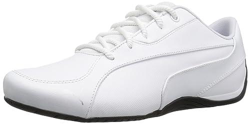 ab73cf0df Puma Drift Cat 5 Core - Zapatillas de Senderismo para Hombre, Blanco (PUMA  White