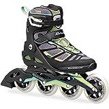 ROLLERBLADE MACROBLADE 100 W Inline Skate 2017 black/light green, 40
