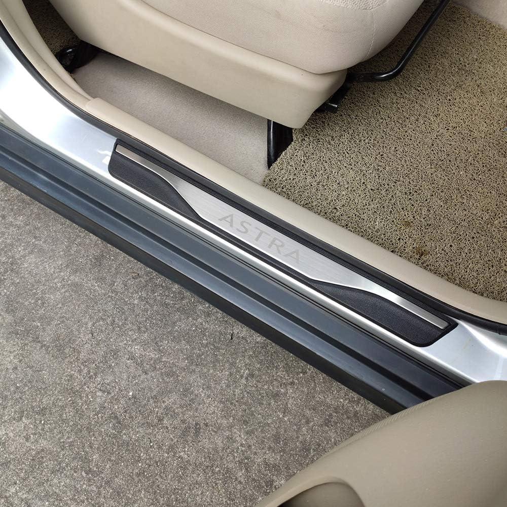 Car Store Schwellenwert f/ür Einstiegsleisten f/ür Opel Astra J Auto-Styling-Zubeh/ör