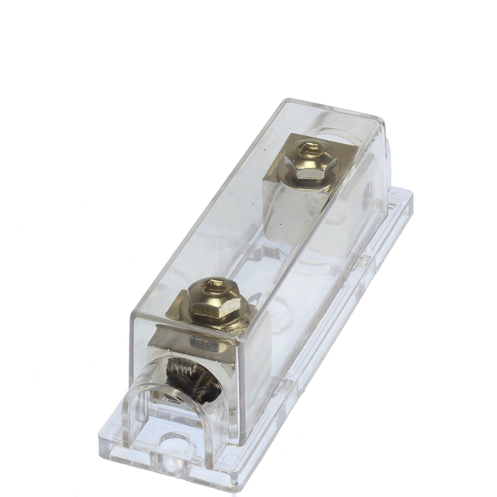 (1) 350 AMP ANL Fuse & (1) Inline Fuseholder Battery Install Kit 1/0 Gauge 1FT by 12voltnet (Image #3)