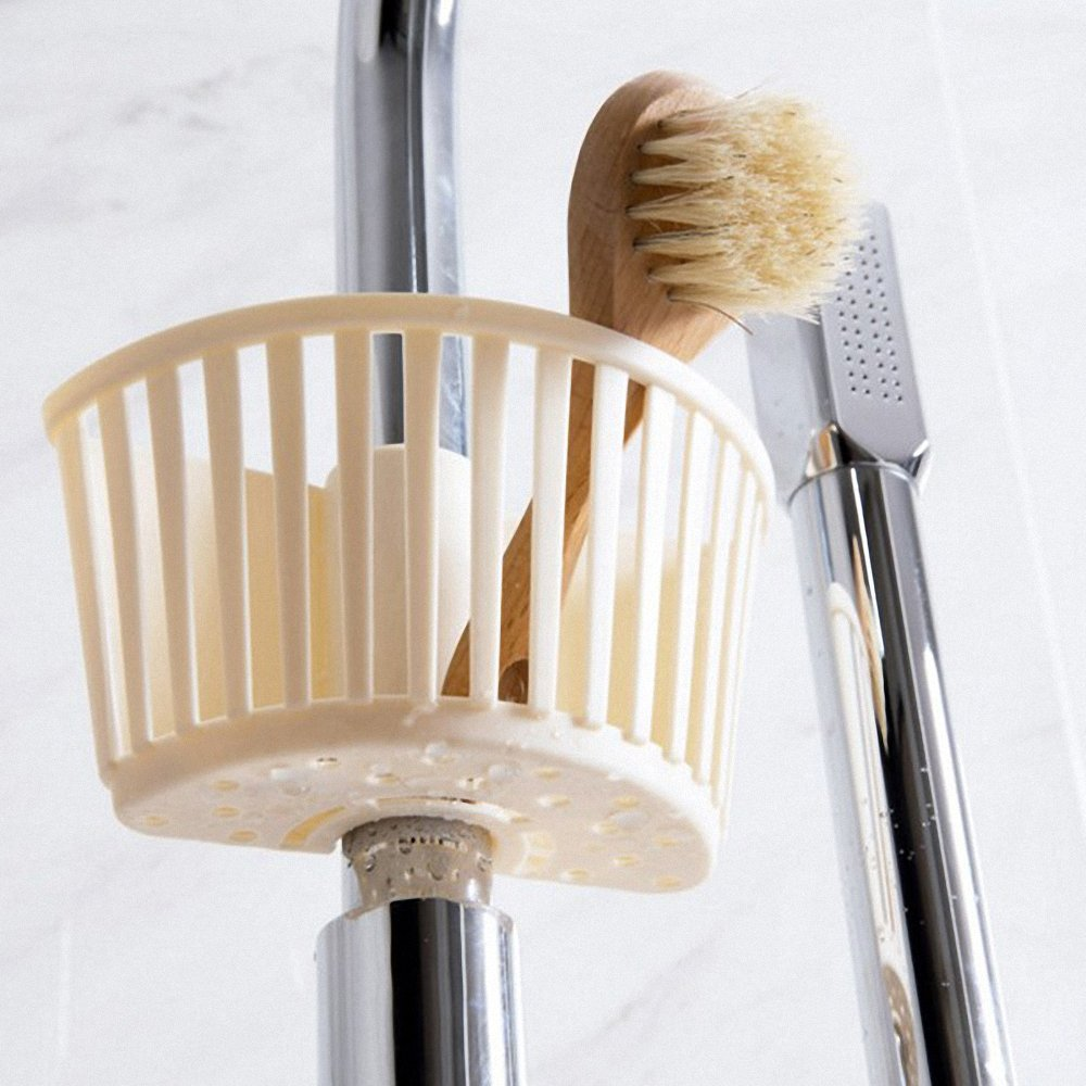 Pipes To The Card Slot Sponge Admit Stand Debris From Drain Water Rack Kitchen Supplies Water Tanks Plastic Hanging Basket by huici (Image #4)